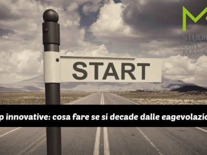 #Startup innovative: cosa fare se si decade dalla agevolazioni IRES