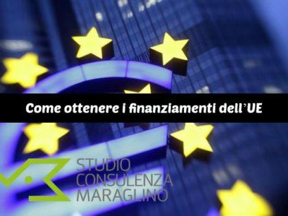 Come ottenere i finanziamenti dell'UE