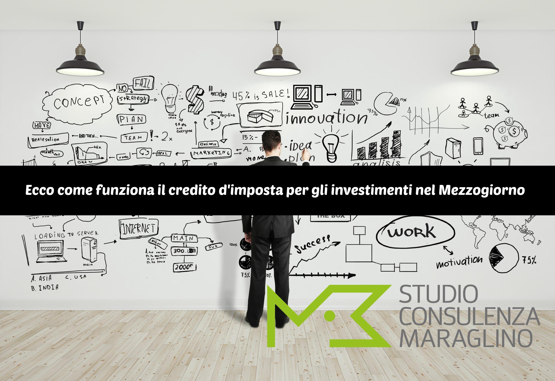 Credito d'imposta per investimenti Mezzogiorno