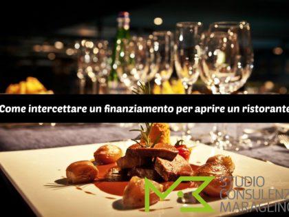 Come intercettare un finanziamento per aprire un ristorante