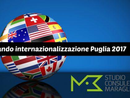 Bando internazionalizzazione Puglia 2017