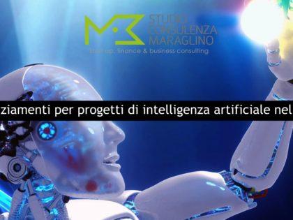 Finanziamenti per progetti di intelligenza artificiale nelle PA