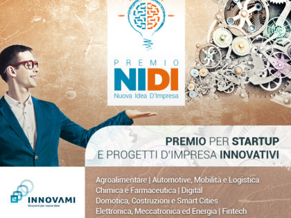 Call for Innovators – Premio NIDI – Nuova Idea D'Impresa 2018