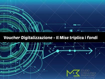 Voucher Digitalizzazione – Il Mise triplica i fondi