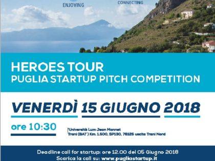 In Puglia una call per startup per vincere due ingressi ad Heroes 2018