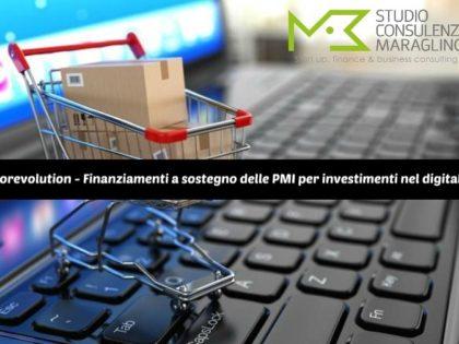 Storevolution – Finanziamenti a sostegno delle PMI per investimenti nel digitale