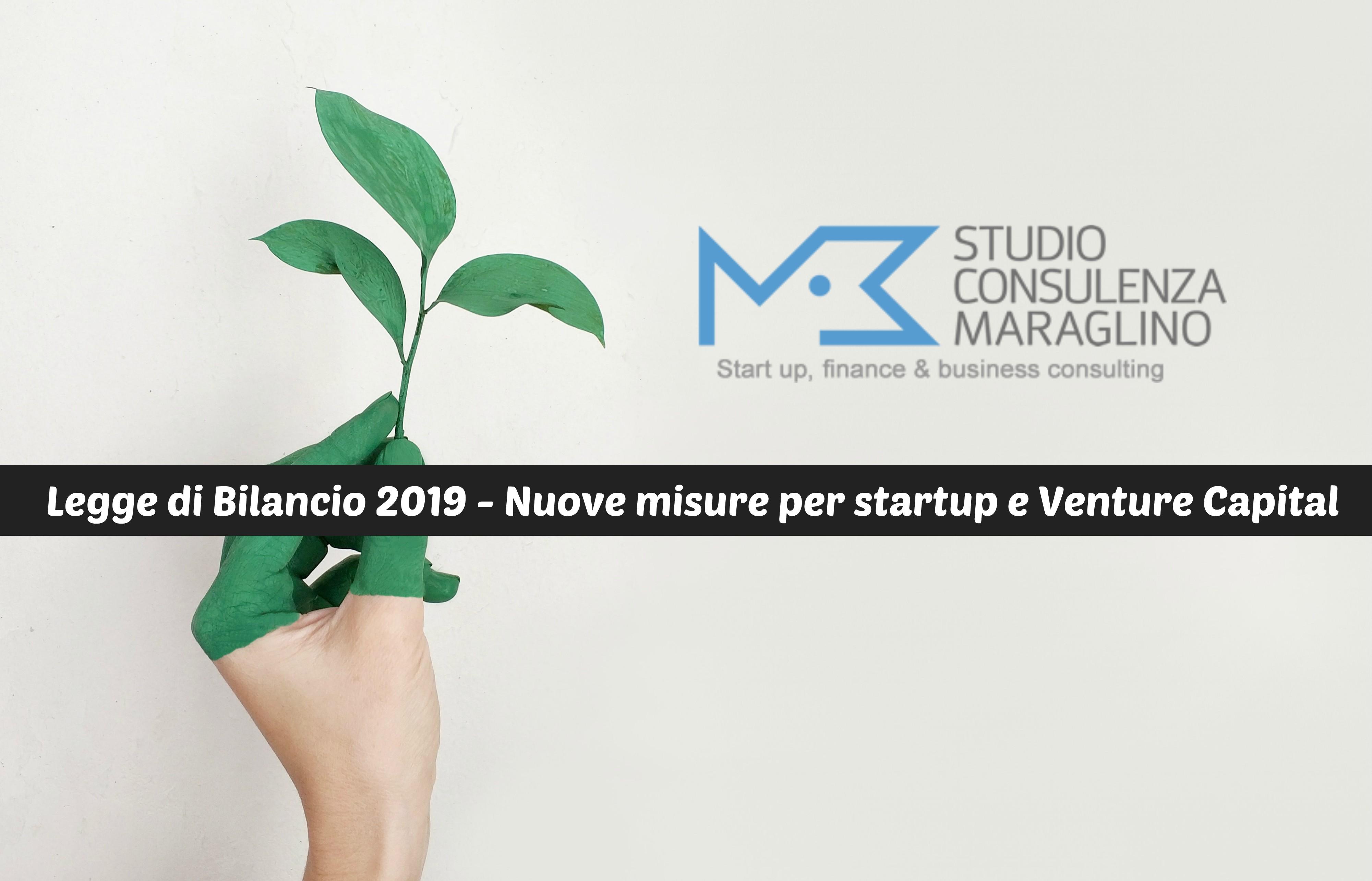 Legge di Bilancio 2019 – Nuove misure per startup e Venture Capital