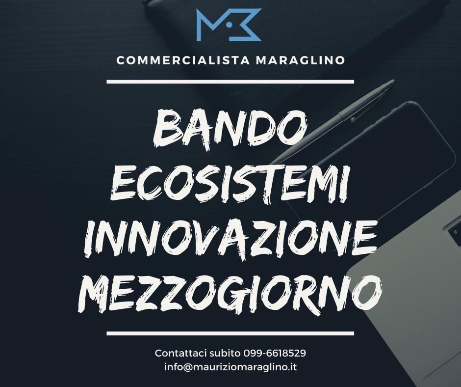 Bando Ecosistemi Innovazione nel Mezzogiorno. Un opportunità da 350 milioni di euro